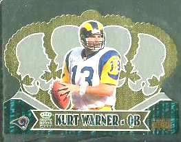 Kurt Warner - 2000 Crown Royale #86 'PREMIERE DATE' Football cards value
