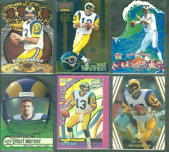 Kurt Warner - 2000 Topps Chrome 'OWN the GAME' REFRACTOR #OTG2 Football cards value