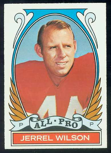 1972 Topps FB #276 Jerrel Wilson [#a] VERY SCARCE SHORT PRINT (Chiefs) Football cards value