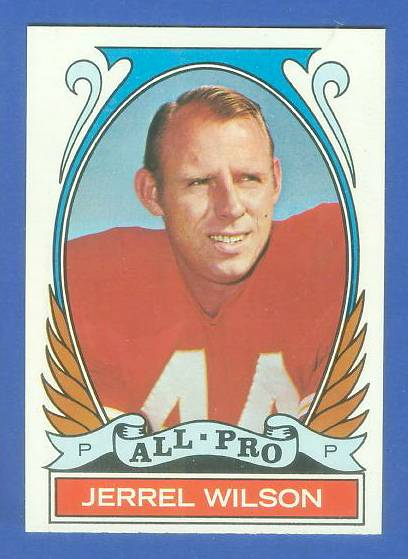 1972 Topps FB #276 Jerrel Wilson [#b] VERY SCARCE SHORT PRINT (Chiefs) Football cards value