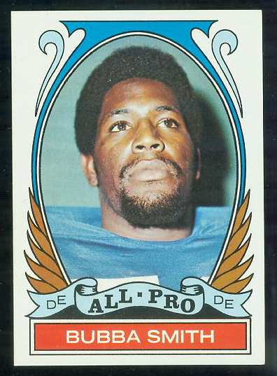 1972 Topps FB #278 Bubba Smith VERY SCARCE SHORT PRINT (Colts) Football cards value