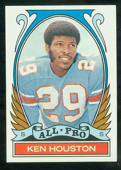 1972 Topps FB #287 Ken Houston VERY SCARCE SHORT PRINT (Oilers) Football cards value