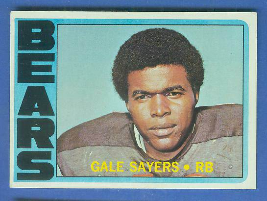 1972 Topps FB #110 Gale Sayers [#a] (Bears) Football cards value