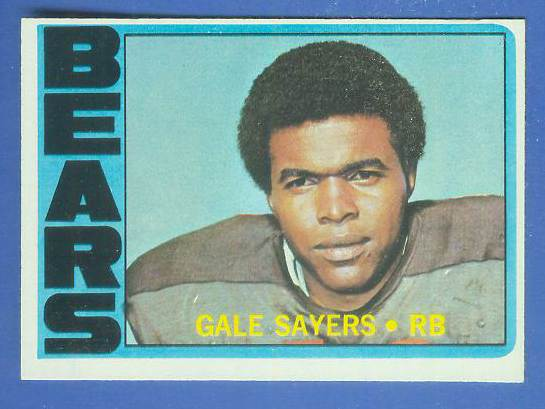 1972 Topps FB #110 Gale Sayers [#c] (Bears) Football cards value