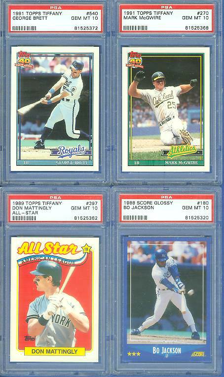 Vintage baseball cards from www Baseball-Cards com