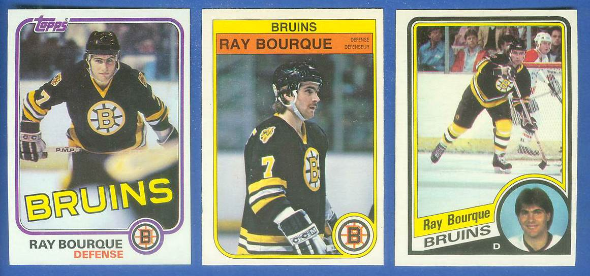 1984-85 O-Pee-Chee (OPC) #..1 Ray Bourque (Bruins) Hockey cards value