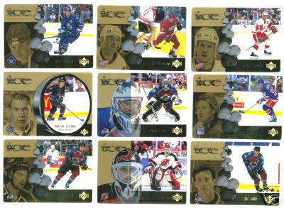 1998-99 McDonald's ICE (by Upper Deck) - COMPLETE SET (28 cards) Hockey cards value