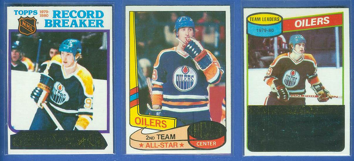 1980-81 Topps #182 WAYNE GRETZKY 'Team Leaders' Hockey cards value