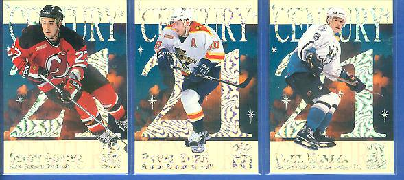 2000 Crown Royale 'Century 21' #.1 Paul Kariya Hockey cards value
