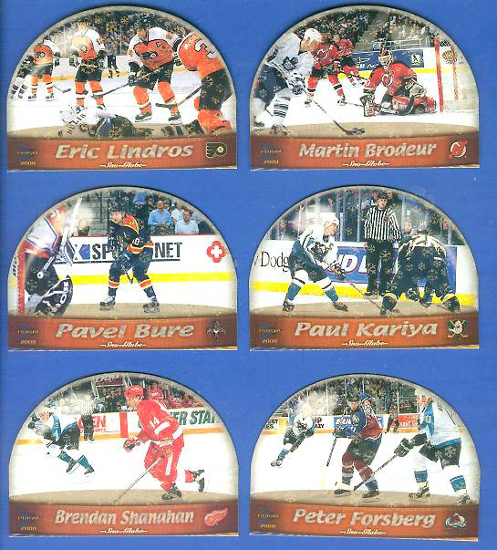 2000 Pacific Prism 'Sno-Globe Die-Cuts' #10 Brendan Shanahan Hockey cards value
