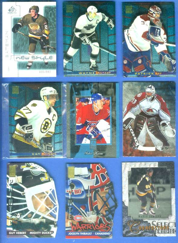 Wayne Gretzky - 1994-95 Stadium Club Finest Inserts #4 Hockey cards value