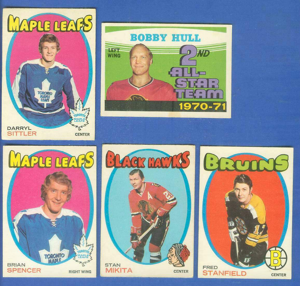 1971-72 OPC/O-Pee-Chee HOCKEY #193 Darryl Sittler ROOKIE (Maple Leafs) Hockey cards value