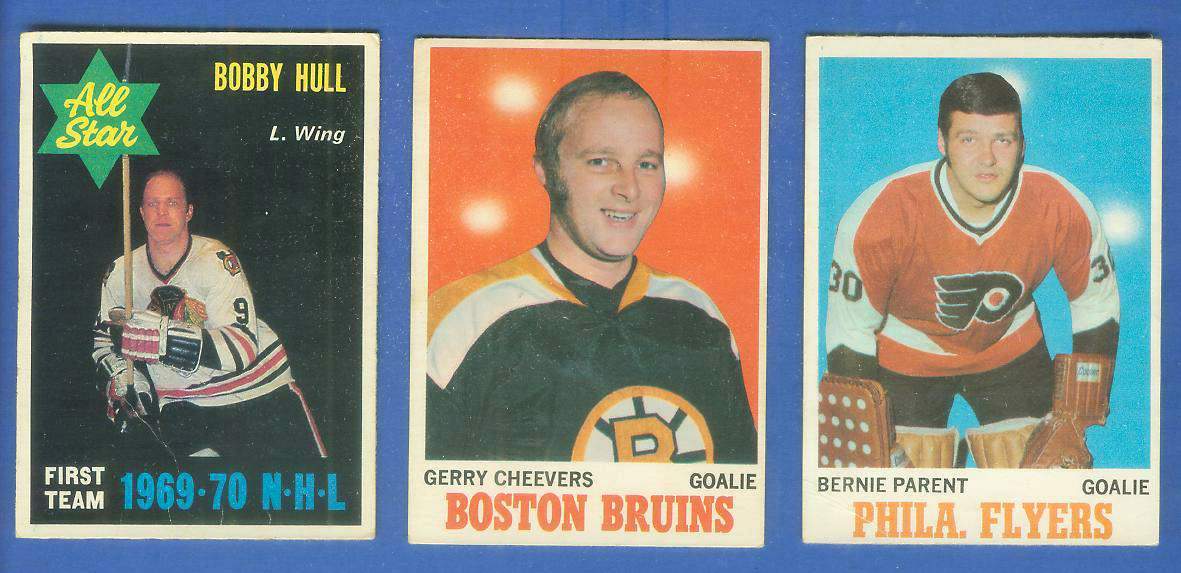 1970-71 OPC/O-Pee-Chee HOCKEY #235 Bobby Hull All-Star (Black Hawks) Hockey cards value