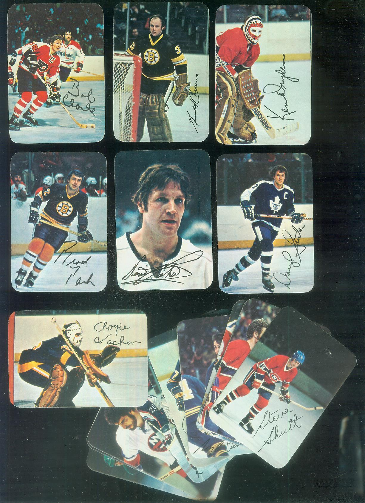 1977-78 Topps/O-Pee-Chee Hockey GLOSSY  - COMPLETE SET (22 cards) Hockey cards value