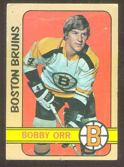 1972-73 Topps Hockey #122 BOBBY ORR All-Star Hockey cards value