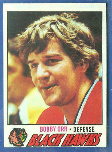 1977-78 Topps Hockey #251 BOBBY ORR (Black Hawks) Hockey cards value