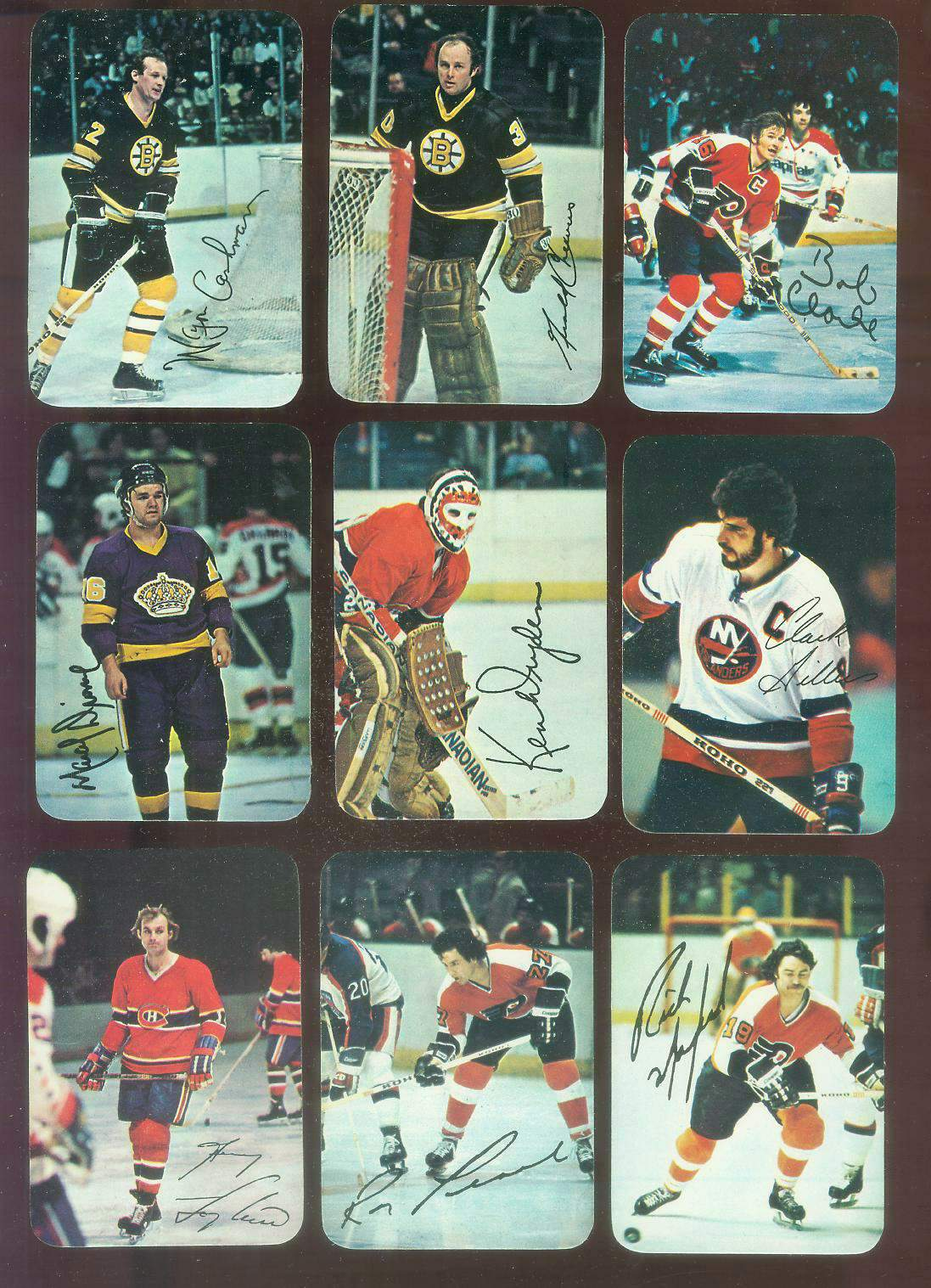 1977-78 Topps/O-Pee-Chee Hockey GLOSSY #.3 Bobby Clarke Hockey cards value