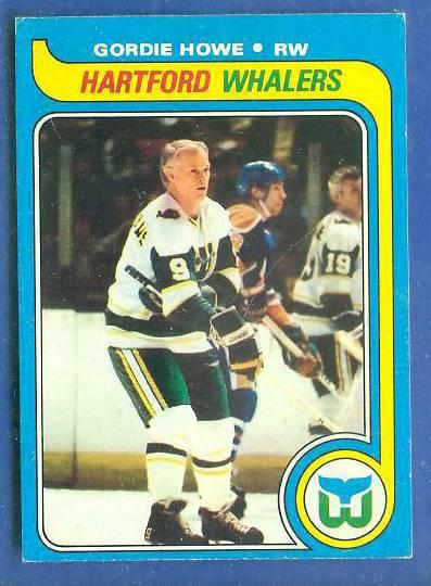 1979-80 Topps Hockey #175 GORDIE HOWE Hockey cards value