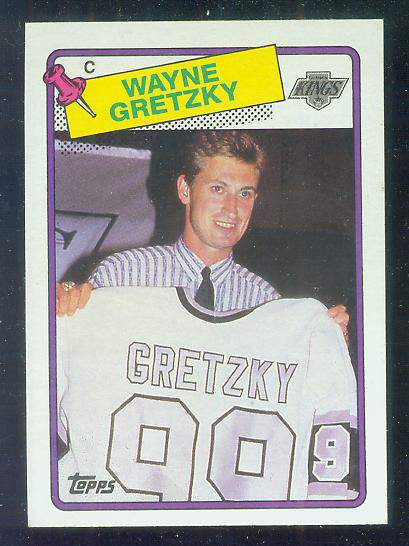 1988-89 Topps #120 WAYNE GRETZKY Hockey cards value