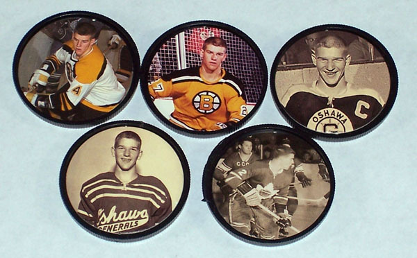 1996 Parkhurst 66-67 Bobby Orr Coin Set (5 coins) Hockey cards value