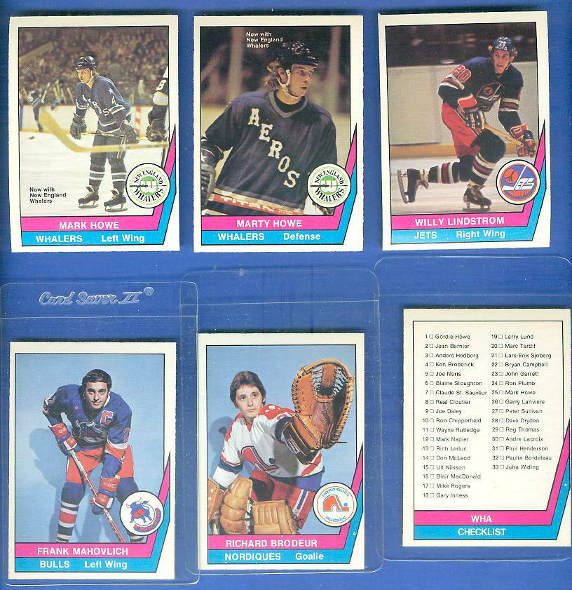 1977-78 O-Pee-Chee/OPC WHA Hockey #65 Marty Howe Hockey cards value