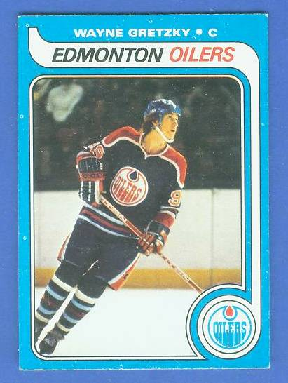 1979-80 Topps Hockey #.18 WAYNE GRETZKY ROOKIE Hockey cards value