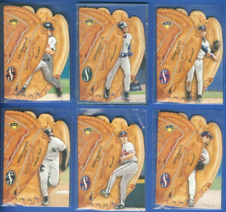 1997 Leaf 'STATISTICAL STANDOUTS' #14 John Smoltz (Braves) Baseball cards value