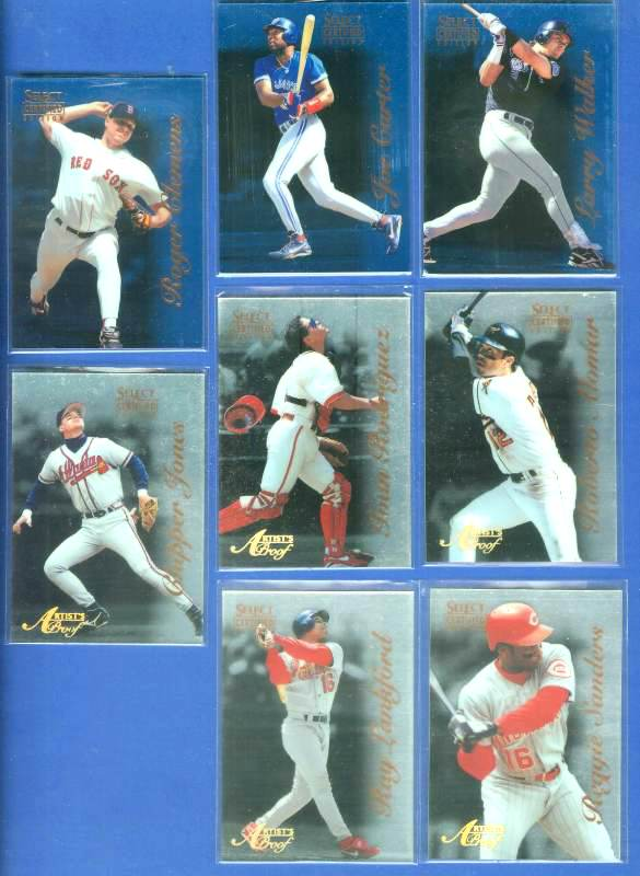 1996 Select Certified ARTIST'S PROOFS #.35 Ivan Rodriguez Baseball cards value