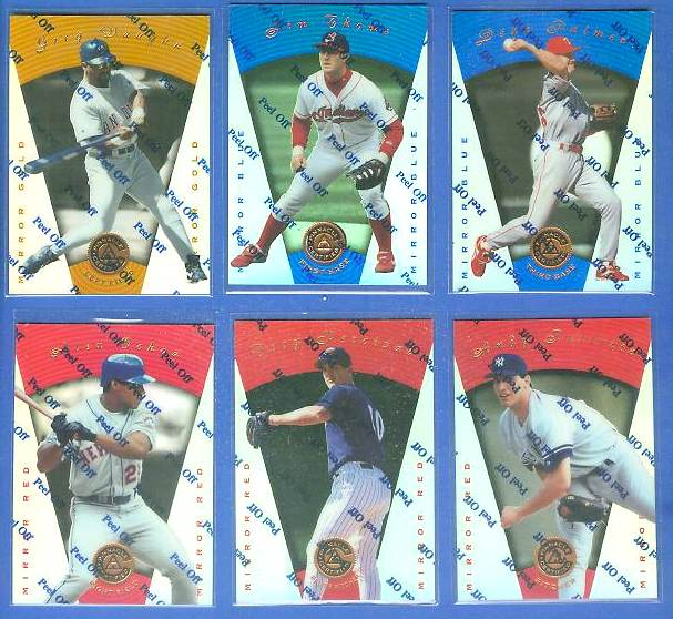 1997 Pinnacle Certified MIRROR GOLD # 64 Greg Vaughn Baseball cards value