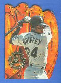 1994 Flair 'HOT GLOVE' #.3 Ken Griffey Jr (Mariners) Baseball cards value