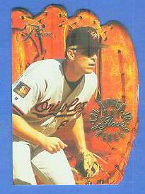 1994 Flair 'HOT GLOVE' #.8 CAL RIPKEN (Orioles) Baseball cards value