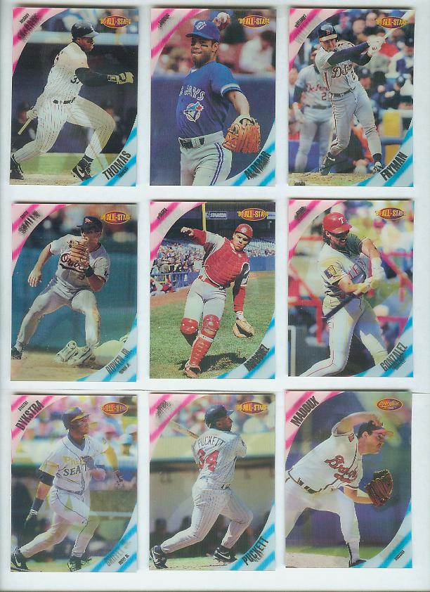 1994 Sportflics FanFest All-Stars #AS2 Ryne Sandberg/Roberto Alomar Baseball cards value