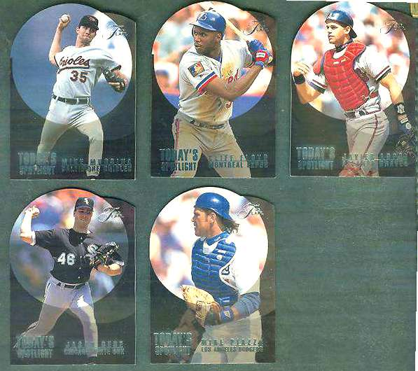 1995 Flair 'TODAY's SPOTLIGHT' #9 Mike Piazza (Dodgers) Baseball cards value