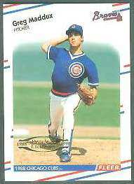 1998 Fleer Tradition Decade of Excellence #.9 Greg Maddux (Braves) Baseball cards value