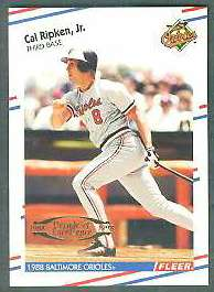 1998 Fleer Tradition Decade of Excellence #12 Cal Ripken (Orioles) Baseball cards value