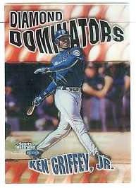 1999 Sports Illustrated 'DIAMOND DOMINATORS' #..6 Ken Griffey Baseball cards value