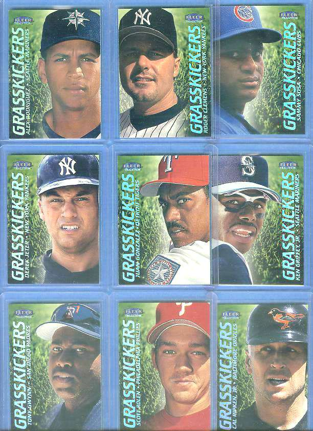 Scott Rolen - 2000 Fleer Tradition 'GRASSKICKERS' Baseball cards value