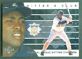 2000 Upper Deck Hitter's Club INSERTS #HC.5 Tony Gwynn (Padres) Baseball cards value