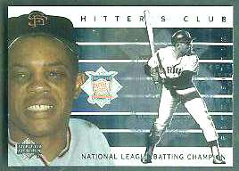 2000 Upper Deck Hitter's Club INSERTS #HC.3 Willie Mays (Giants) Baseball cards value