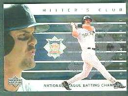 2000 Upper Deck Hitter's Club INSERTS #HC.9 Larry Walker (Rockies) Baseball cards value