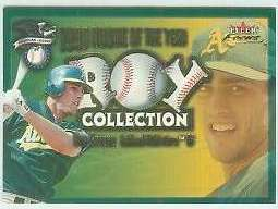 2001 Fleer Focus 'ROY COLLECTION' #.7 Ben Grieve (A's) Baseball cards value