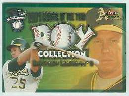 2001 Fleer Focus 'ROY COLLECTION' #13 Mark McGwire (A's) Baseball cards value