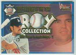 2001 Fleer Focus 'ROY COLLECTION' #17 Mike Piazza (Dodgers) Baseball cards value