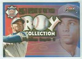2001 Fleer Focus 'ROY COLLECTION' #25 Billy Williams (Cubs) Baseball cards value