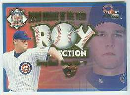 2001 Fleer Focus 'ROY COLLECTION' #23 Kerry Wood (Cubs) Baseball cards value