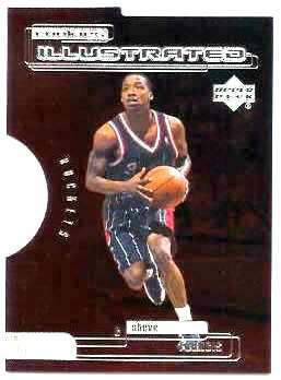 1999 00 Upper Deck Rookies Illustrated Level 2 Ri9 Steve Francis