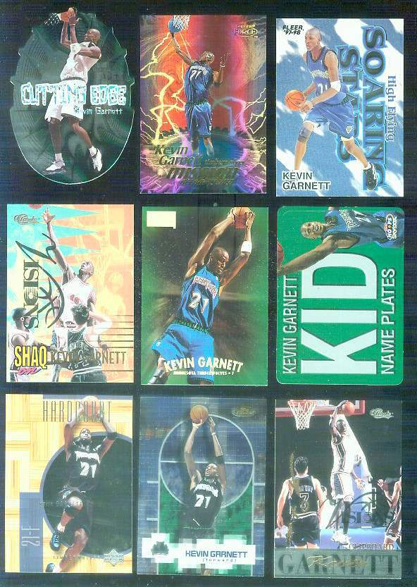 1999-00 Upper Deck Hardcourt #31 Kevin Garnett Basketball cards value