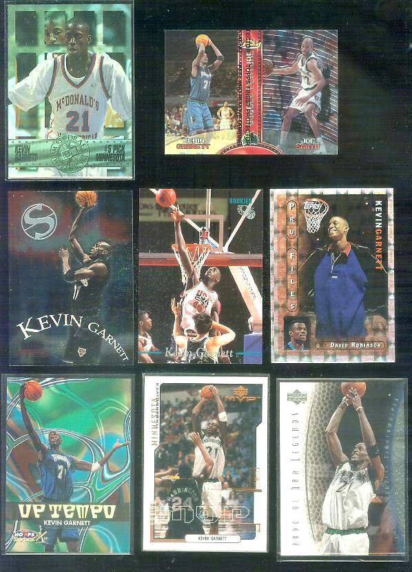 1999-00 Hoops Decade 'Up Tempo' #UT2 Kevin Garnett Basketball cards value