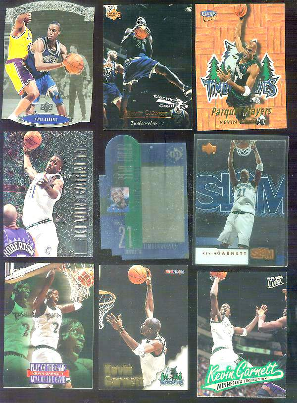 1996-97 Ultra #212 Kevin Garnett Basketball cards value
