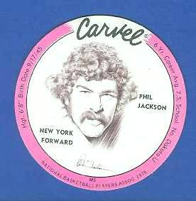 1975 Carvel Discs - Phil Jackson PINK Basketball cards value